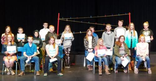 2019 Rsl County Spelling Bee Participants