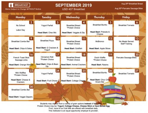 RMS Breakfast September 2019
