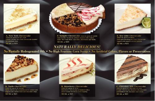 cheesecake fundraiser