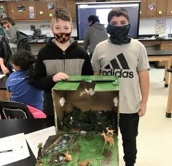 JH Students Present Biomes of the World