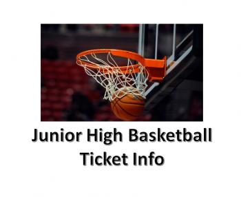 JH Basketball Ticket Information