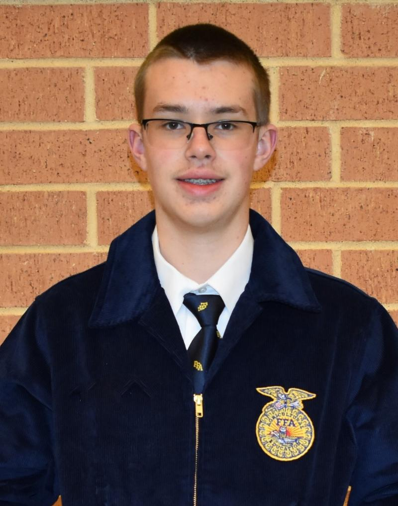Luke Beadles Advances to Area Speaking Contest