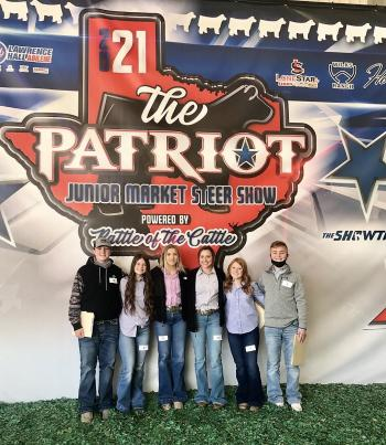 FFA Competes at The Patriot Livestock Judging Contest