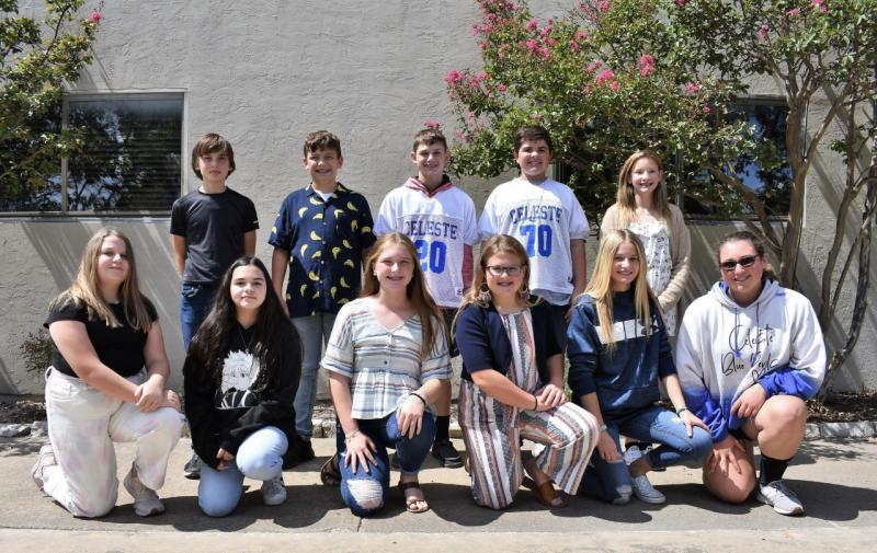 JH Student Council Officers