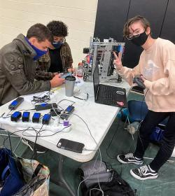 Robotics Teams Compete at Redwater Tournament