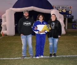 Football, Cheer, Drill, Drums Senior Night