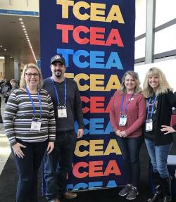 Thumbnail Image for Article Celeste ISD Faculty Members attend Technology Conference