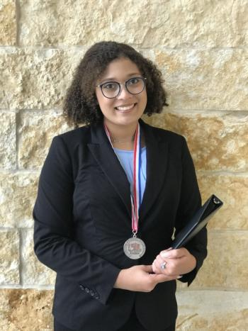 Renee Gray is STATE bound in UIL Poetry!