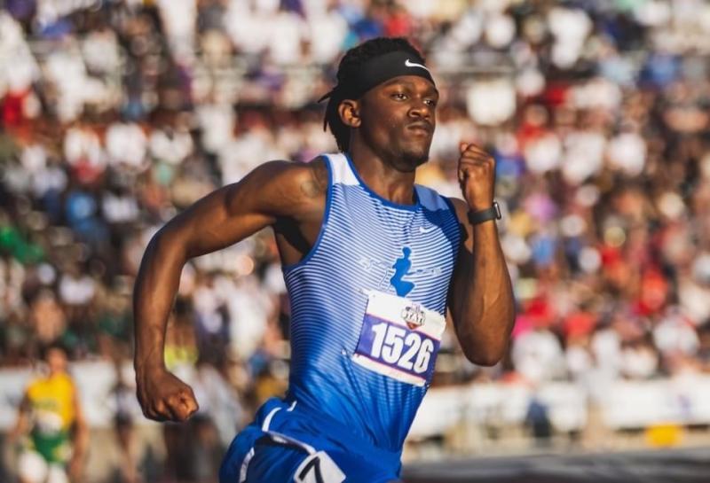Ky Jackson, your 400m TEXAS 2A Silver Medalist!