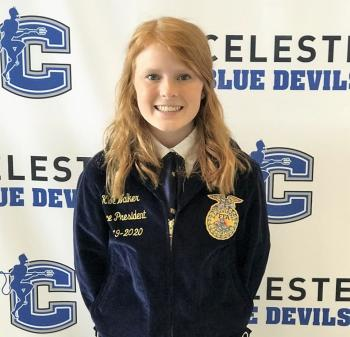 Celeste FFA Members Strive for Excellence