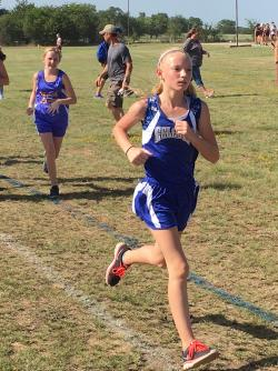 CROSS COUNTRY TEAM COMPETES AT NORTH HOPKINS
