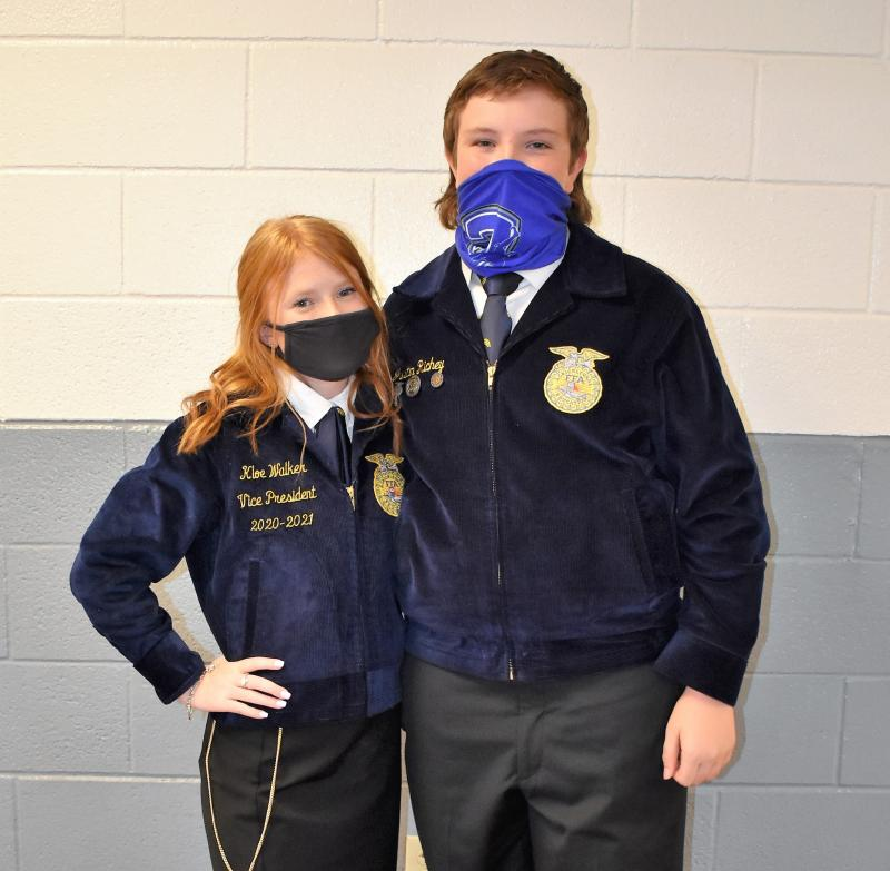 FFA Members Elected to Serve as 2020-2021 Officers