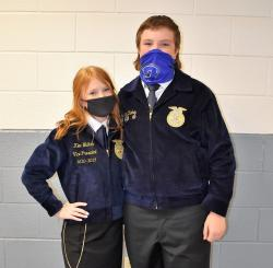 FFA Members Elected to Serve on District and Area Officer Teams