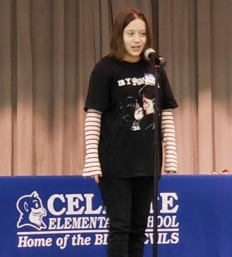 Celeste ISD Hosts Hunt County National Spelling Bee