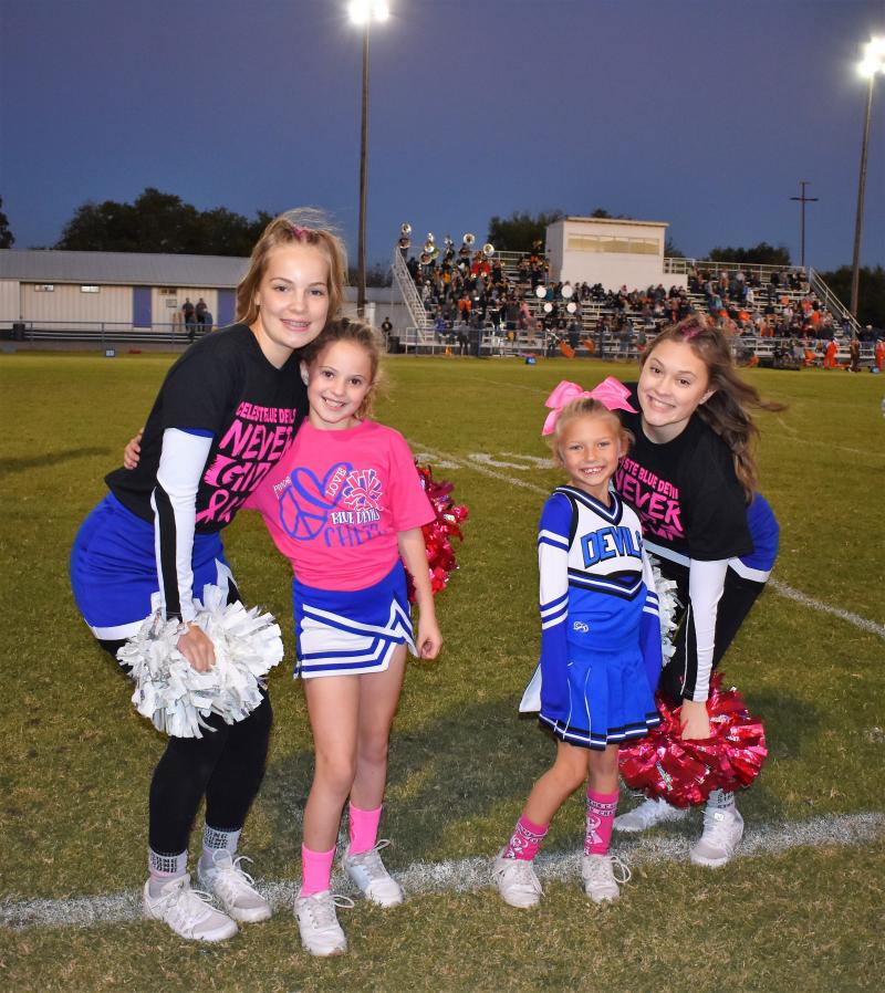 Pink out the Warriors