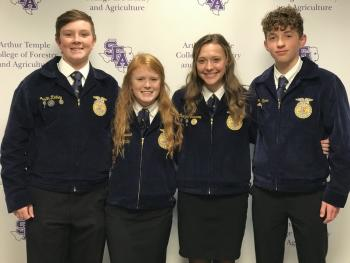 FFA Members Attend State Level Leadership Conference