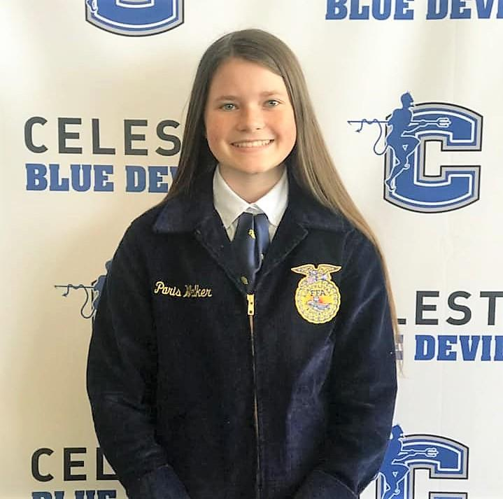FFA Member Competes at State Level