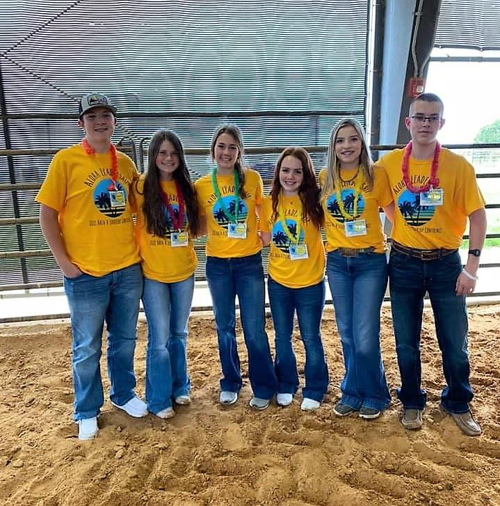 FFA Chapter Officers Attend Leadership Camp
