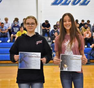 8th Grade Valedictorian & Salutatorian