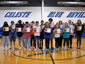 6th Grade AB Honor Roll