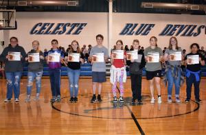 7th Grade AB Honor Roll