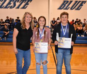Lewis' 8th Grade Math Awards