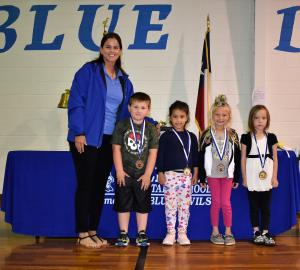Kindergarten: Flowers - Georgia Abell Awards