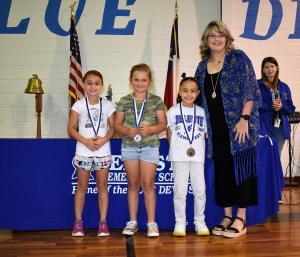 1st Grade: Shaw - Georgia Abell Awards