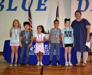2nd Grade: Campbell - Georgia Abell Awards