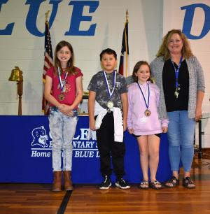 4th Grade: Speir -Georgia Abell Awards