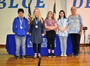 5th Grade: Rhoden - Georgia Abell Awards