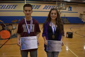 8th Grade Valedictorian and Salutatorian