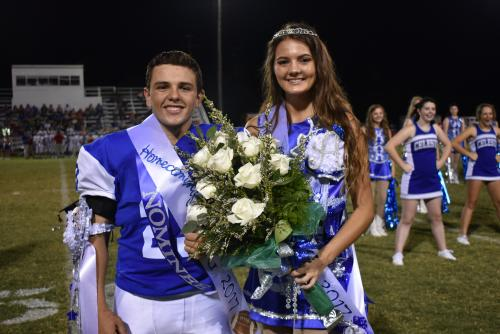 Homecoming 2017 King & Queen
