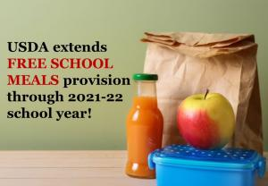 Celeste ISD School Lunch Policy for School Year 2021-2022