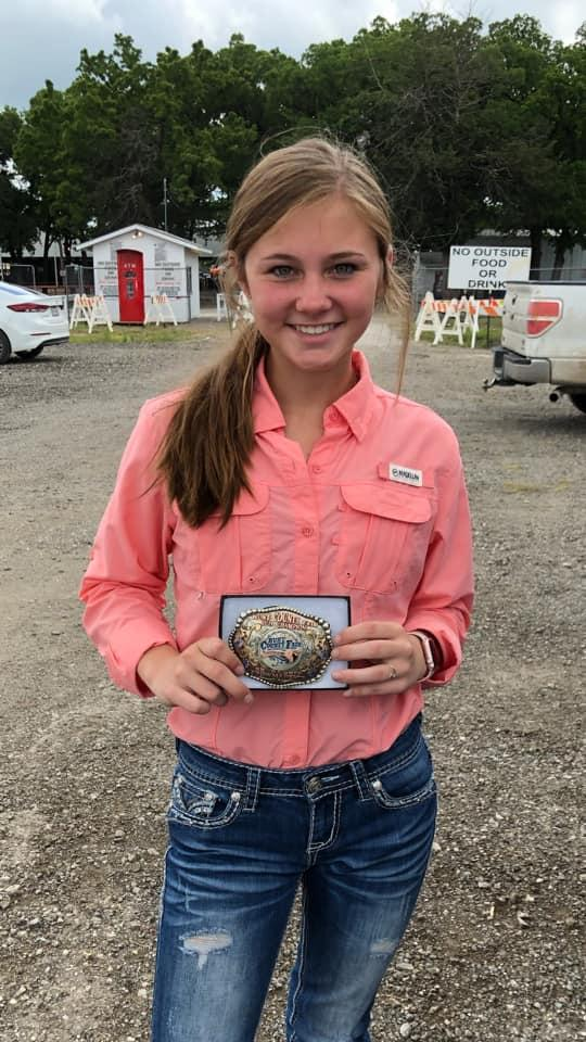 Hunt County Fair 2019 - Fryers Showmanship