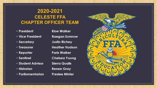FFA 20-21 Officers