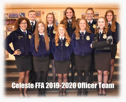 FFA 2019-2020 Officer Team