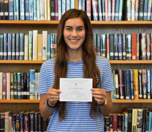 Sherwin named as a Commended Student in the 2019 National Merit Scholarship Program