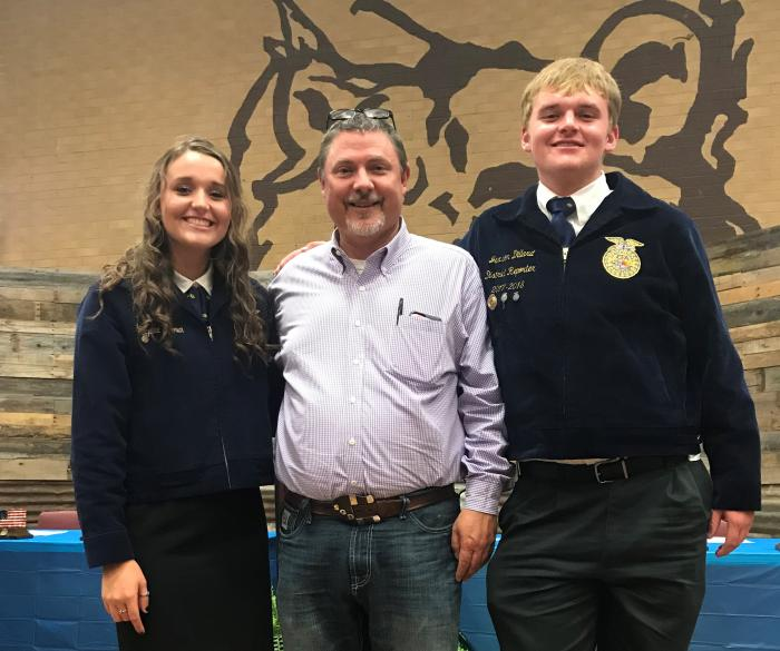 District FFA Meeting