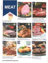 Meat Fundraiser Order Form