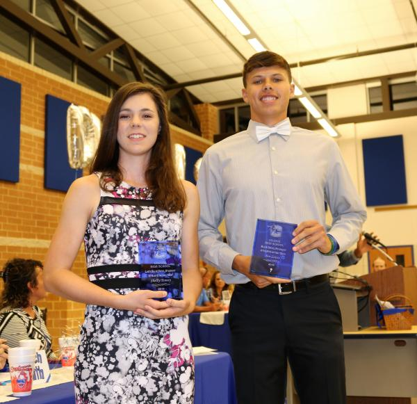 Celeste High School Sports Banquet Student Athlete Awards