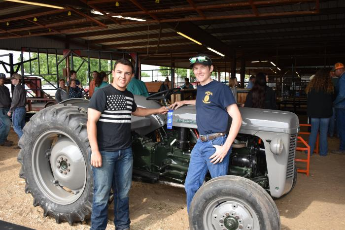 Hunt County Fair ag mech