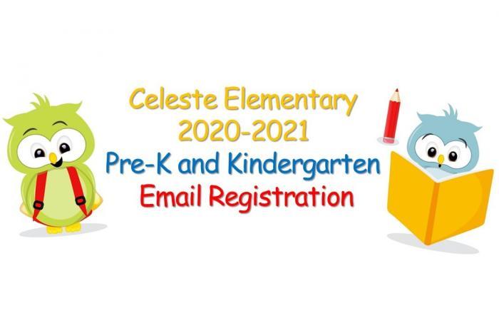 2020-2021 Pre-K and Kindergarten Email Registration