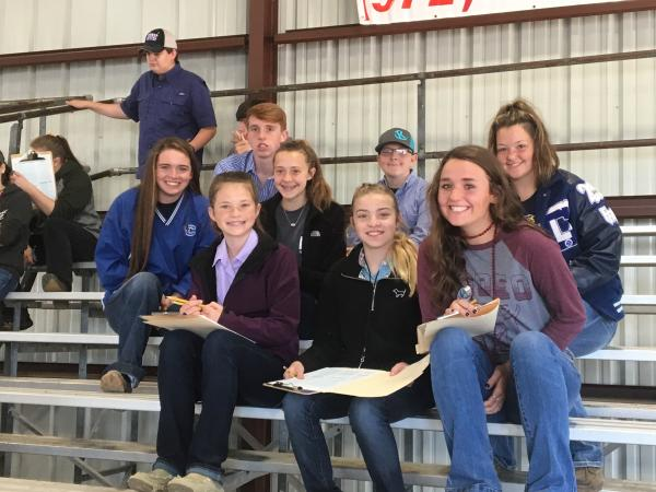 Hunt County Fair livestock show