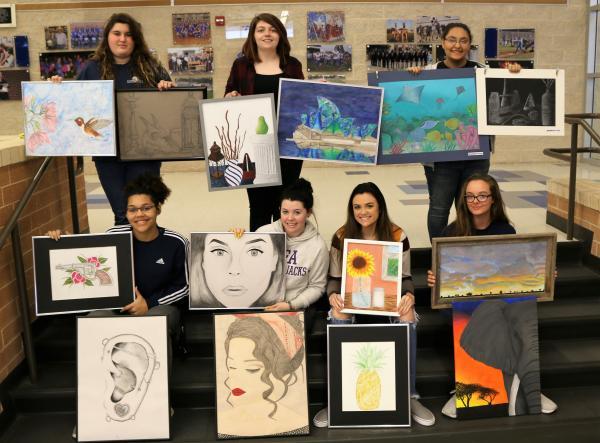 AP Art Students