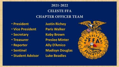 21-22 FFA Officer Team