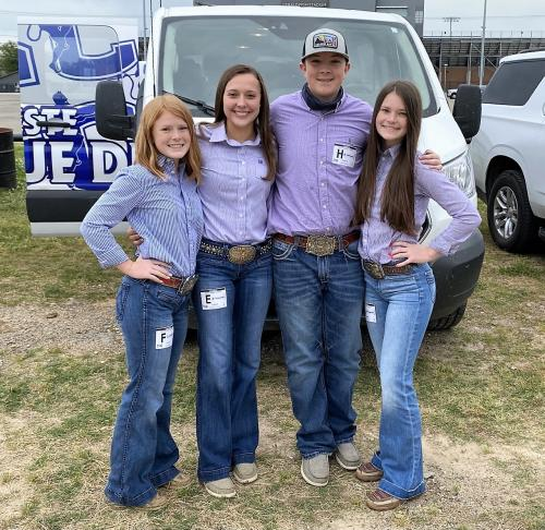 2021 State Qualifying Livestock Judging Team
