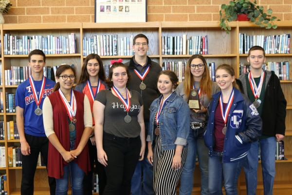 UIL Students Compete at District Academic UIL