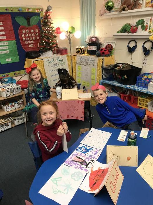 First Grade Christmas Store