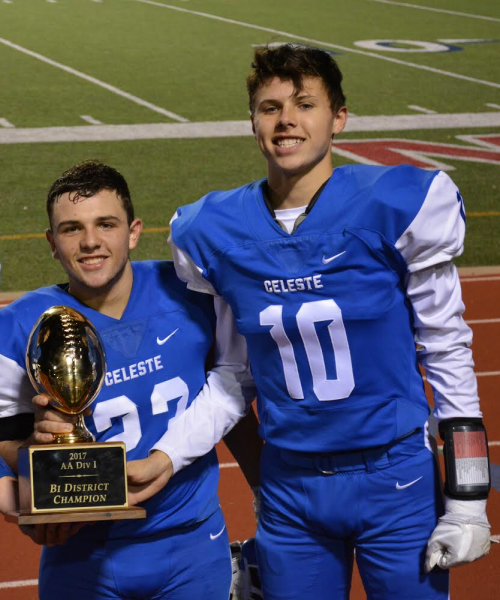 JORDAN AND LEWIS VOTED TO THE ACADEMIC ALL-STATE FOOTBALL TEAM